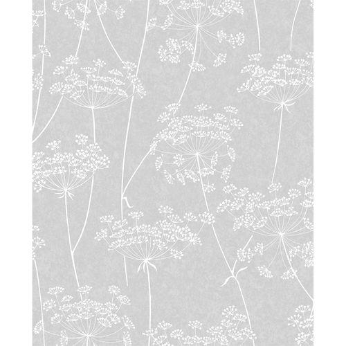 Superfresco Easy 52cm x 10m Grey Aura Wallpaper