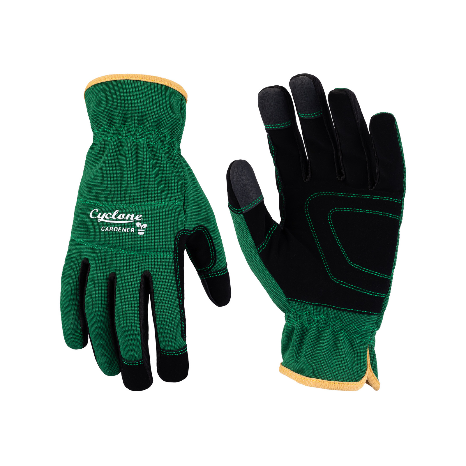 Cyclone Large Fully Synthetic Leather Gloves
