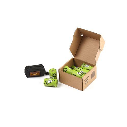 Charlie's Pet Eco-Friendly Biodegradable Doggy Poop Bags & Pouch Dispenser Black - 240 Bags