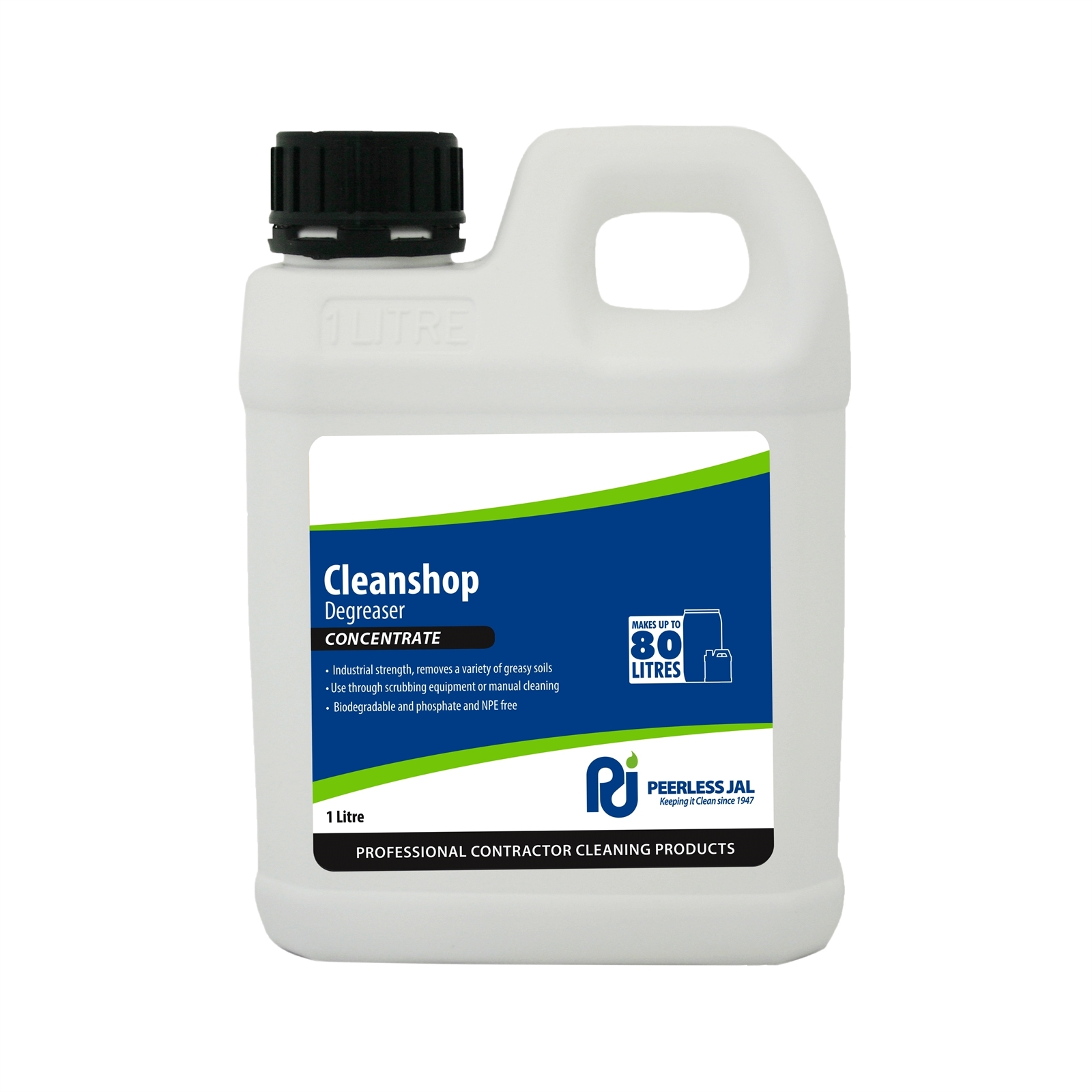 Peerless JAL 1L Cleanshop Heavy Duty Cleaner Degreaser