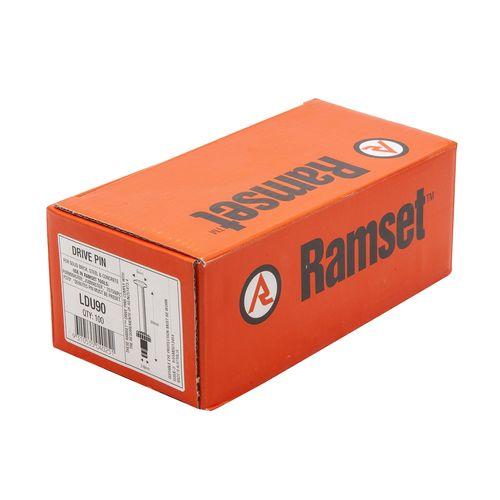 Ramset 3.8 x 90mm Nail Gun Drive Pins - 100 Pack