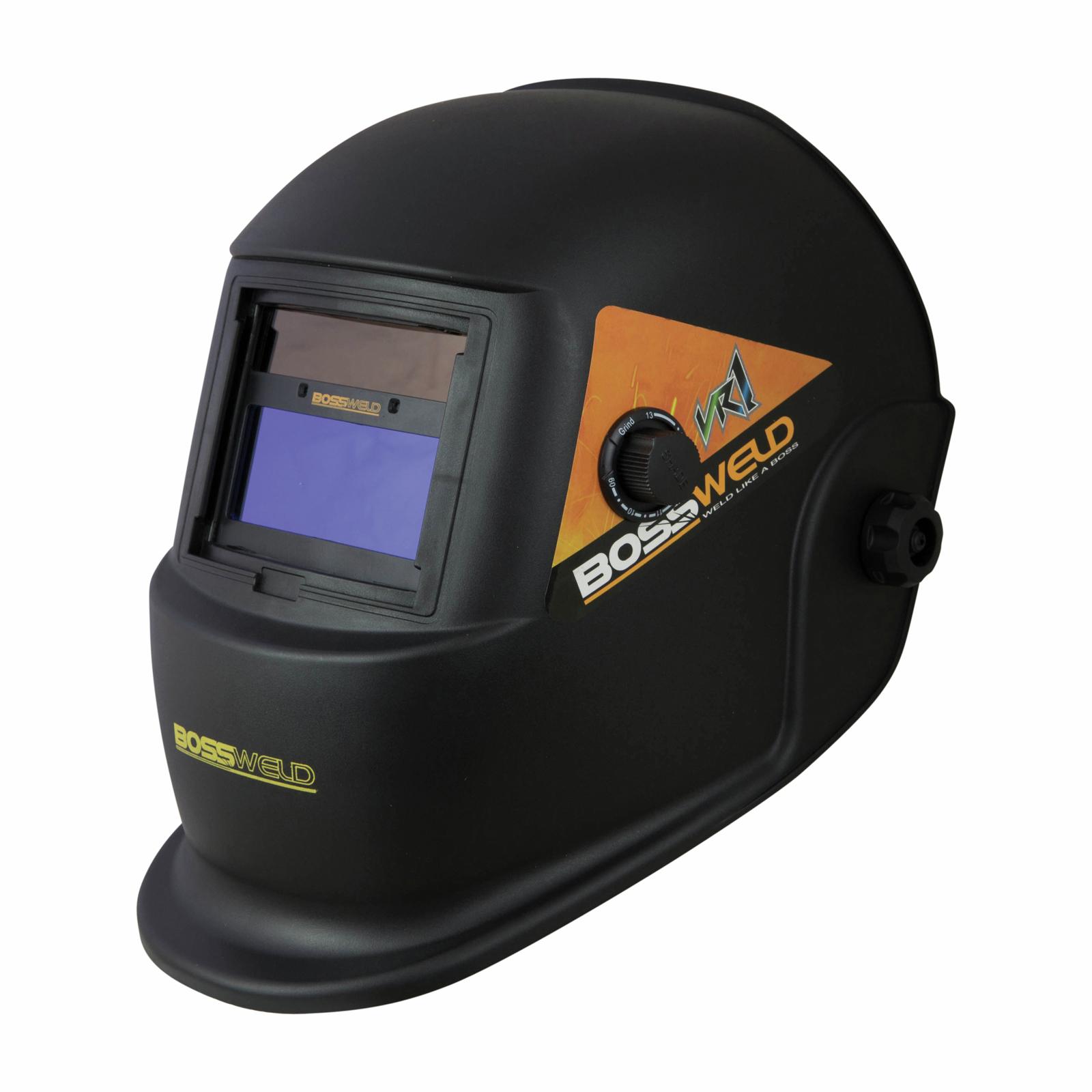 Bossweld VR1 Variable Shade Electronic Welding Helmet
