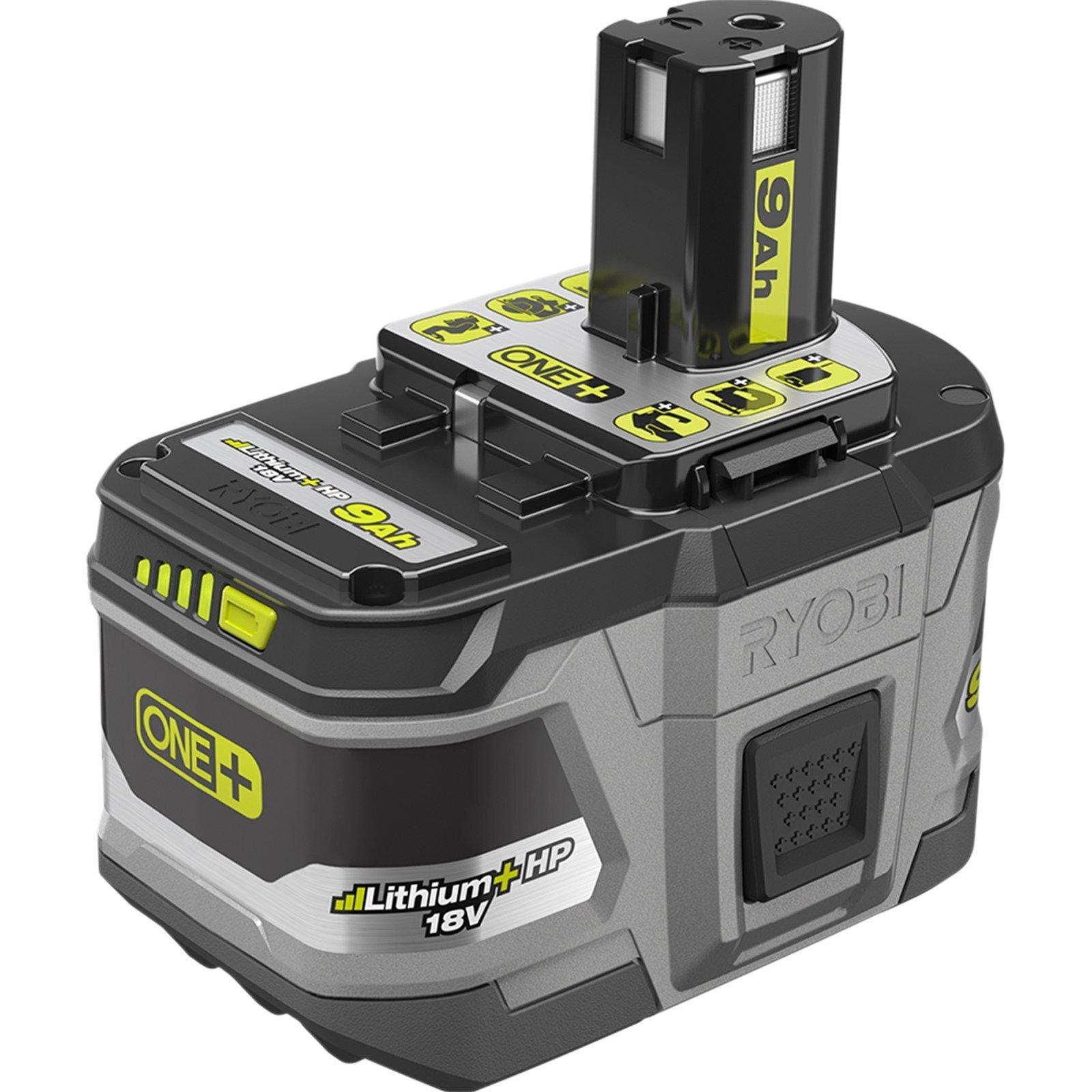 Ryobi 18V ONE+ 9.0Ah Lithium+ HP Battery