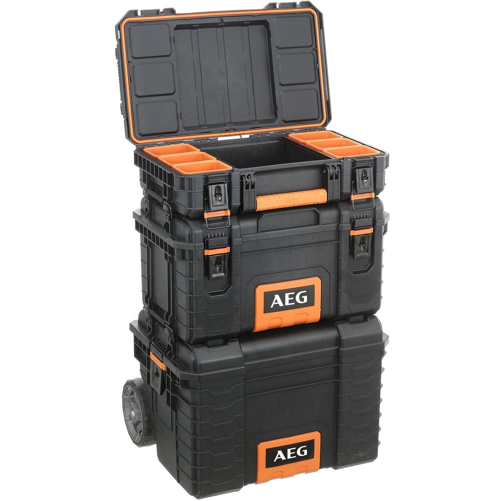 AEG 3 Piece Quickstack Modular Storage Kit