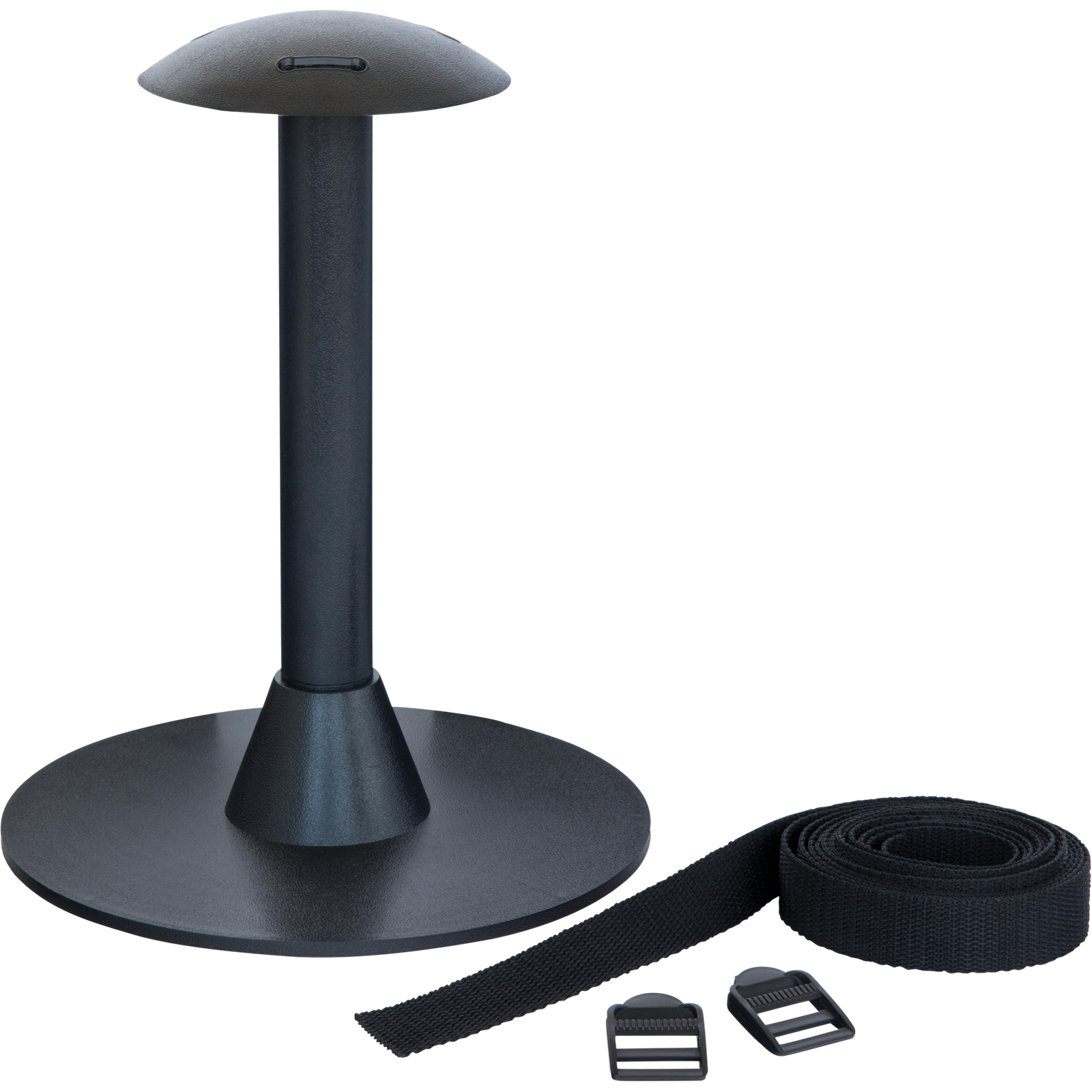 Polytuf 230 x 320 x 230mm Black Table Top Support Pole