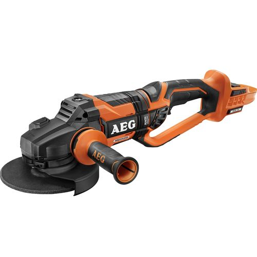 AEG 18V 180mm Dual Brushless Angle Grinder - Skin Only