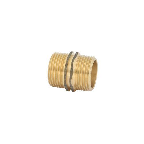 Kinetic 25mm Brass Threaded Hexagon Nipple