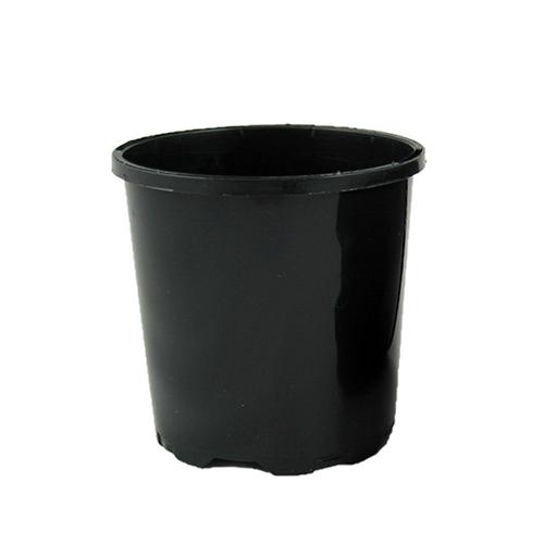 Garden City Plastic Grow Plant Pot - 100mm Black