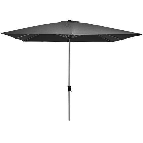 Marquee 3m Charcoal Square Jasper Market Umbrella