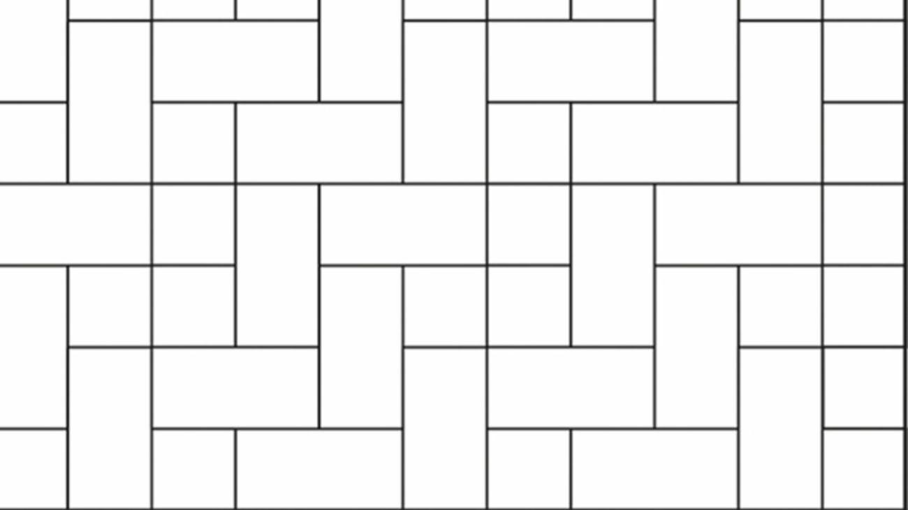 Cobblestone tile pattern