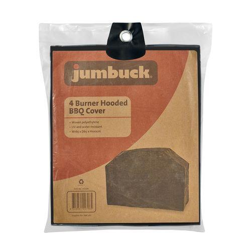 Jumbuck 4 Burner BBQ Cover - 4 Burner Hooded