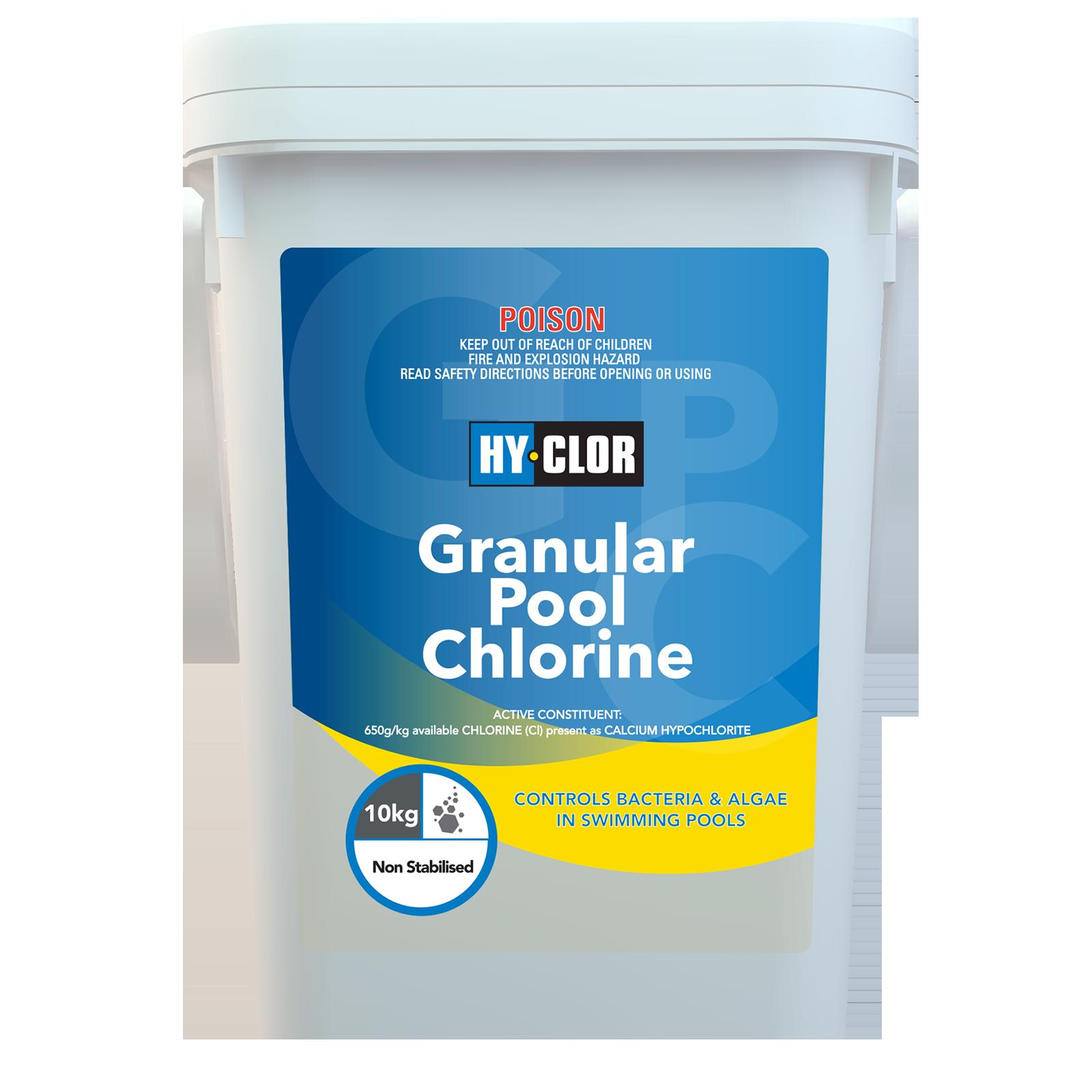 Hy-Clor 10kg Granular Pool Chlorine