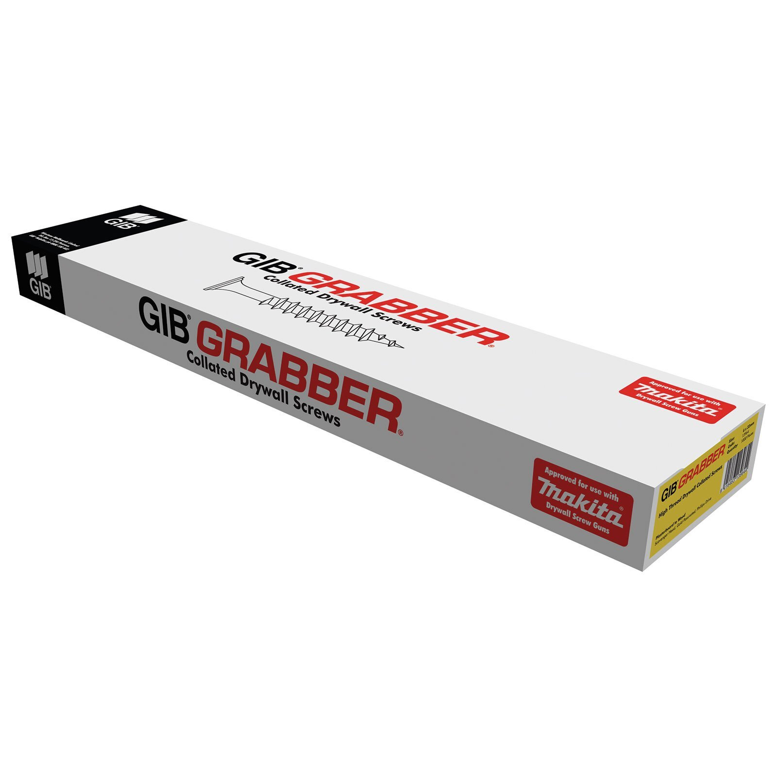 GIB® Grabber® 32x 6 Collated High Thread Screws 1000pk