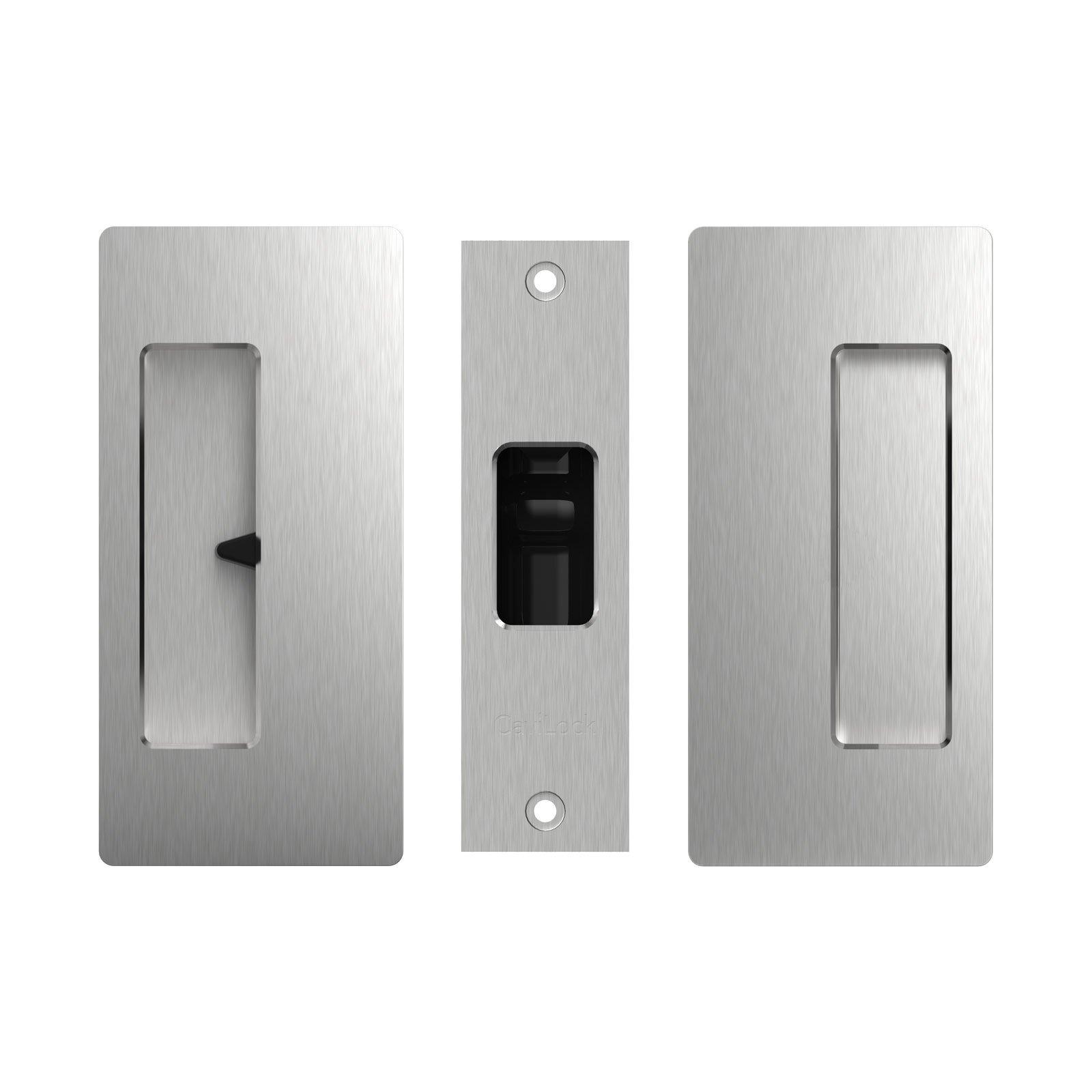CaviLock Satin Chrome CL200 Privacy Cavity Slider Handle