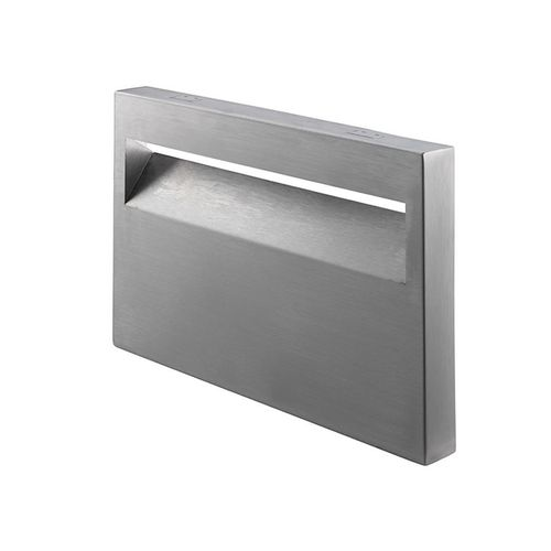 Sandleford 240 x 170mm Stainless Steel Allora Front And Back Brick Insert Letterbox