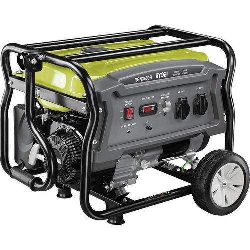Ryobi 3600W 4 Stroke Petrol Generator