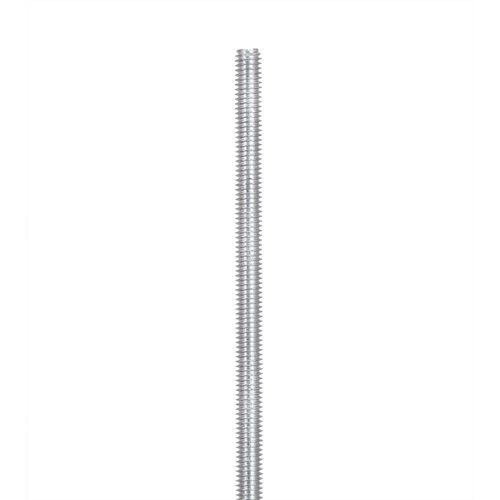 Oxbuild M6 x 1m Zinc Plated Threaded Rod