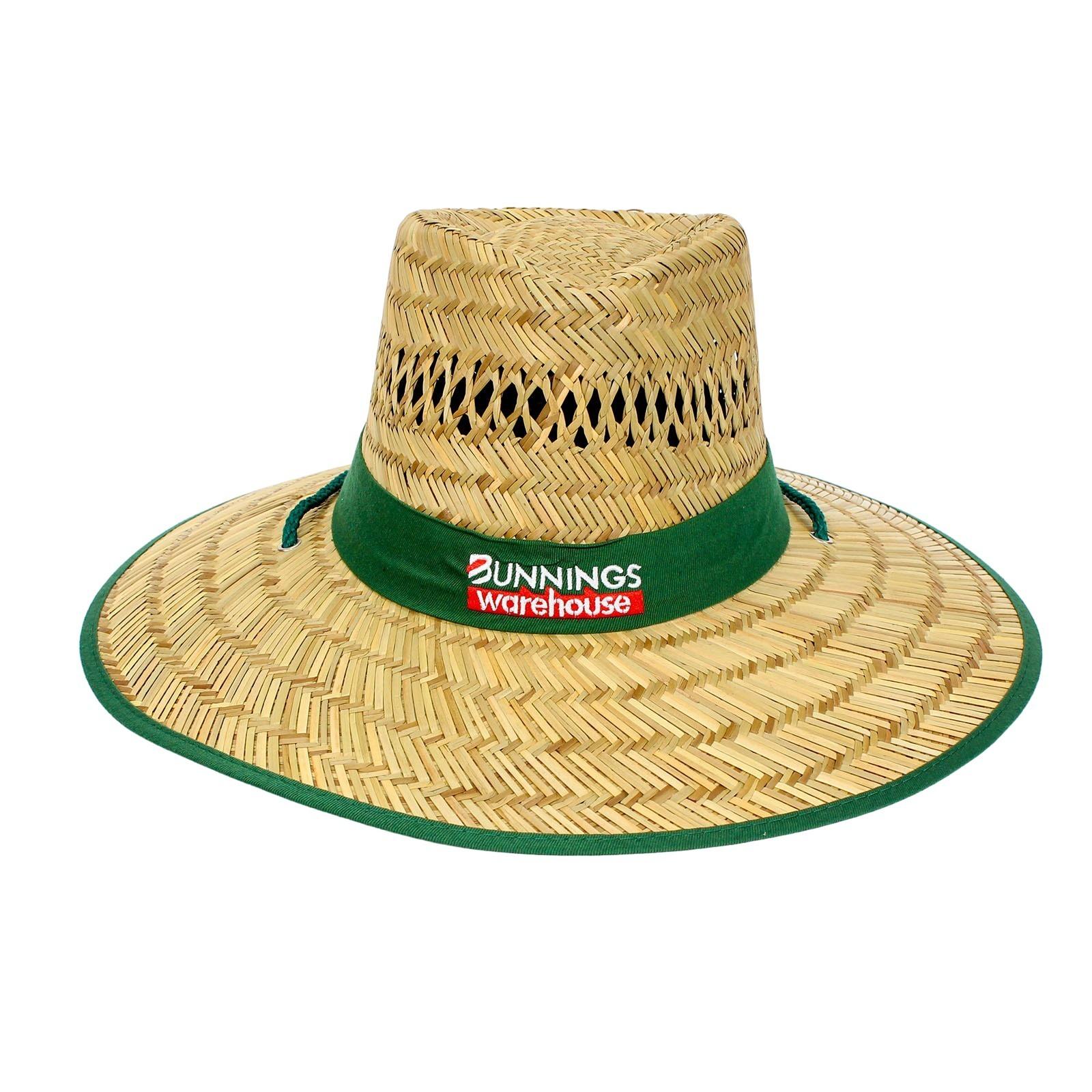 Bunnings Large Straw Hat