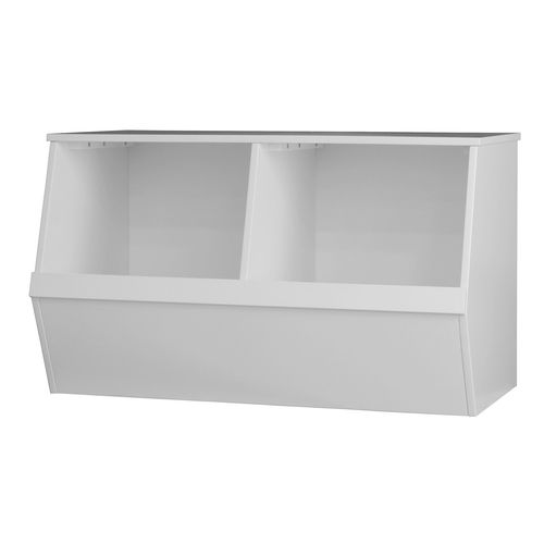Flexi Storage Kids 73.4 x 43.3 x 41cm White Double Storage Box