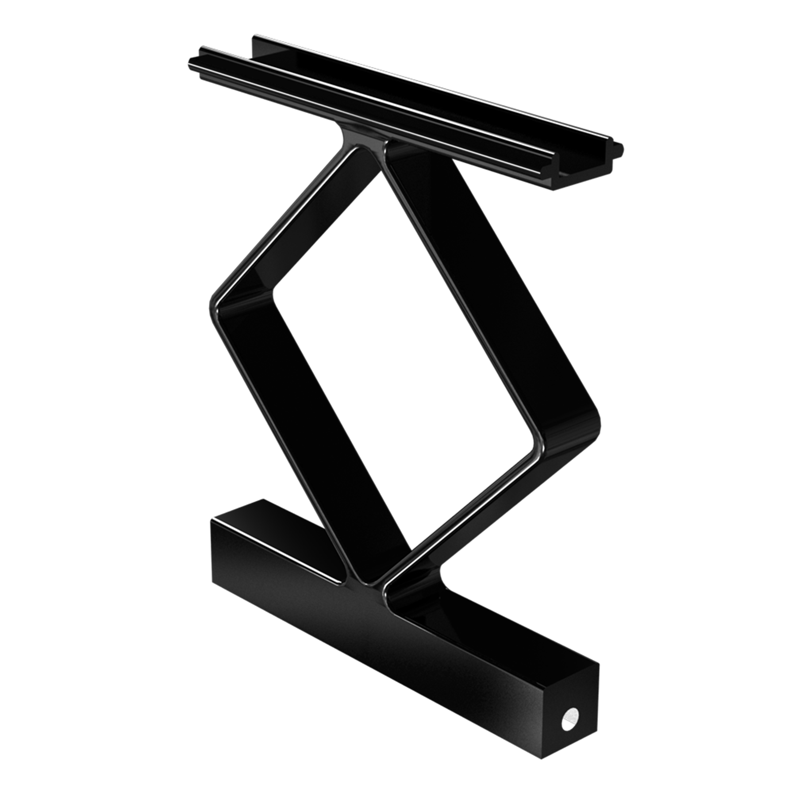 Peak Products Black Aluminium Balustrade Decorative Handrail Spacer - 4 Pack