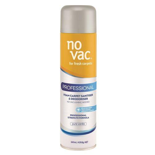 No Vac 549ml Vanilla Professional Carpet Cleaner