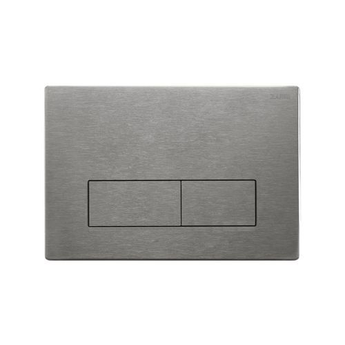 Zumi Slim Square Stainless Steel Brushed Nickle Flush Plate
