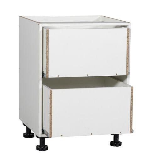 Kaboodle 600mm 2 Drawer Base Cabinet
