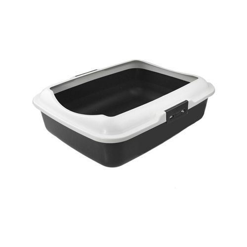 Paws & Claws Cat/Kitten/Pet 48cm Litter Tray w/ Removable Rim Durable/Non Toxic