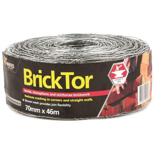 Whites On-Site 70mm x 50m Bricktor Mesh