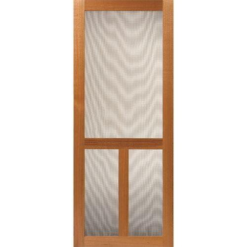 Corinthian Doors 2060 x 820 x 19mm Fresco 3 Lite Timber Screen Door