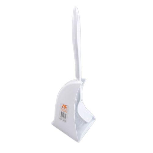 Morgan White Toilet Brush Set