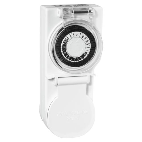 HPM Outdoor 24 Hour Analogue Timer