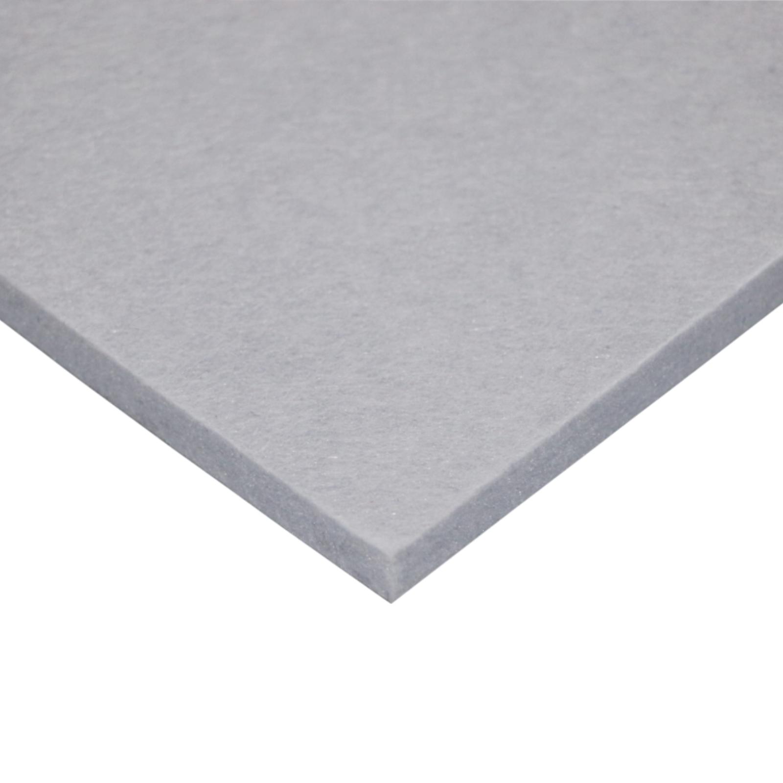 ForestOne 2420 x 1220mm x 9mm Grey Acoustic Pinboard