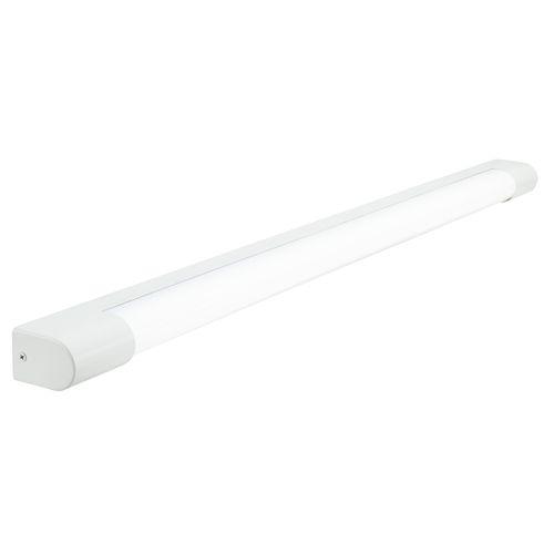 Brilliant 90cm 23W White Rhys Bathroom Vanity Slimline LED Light