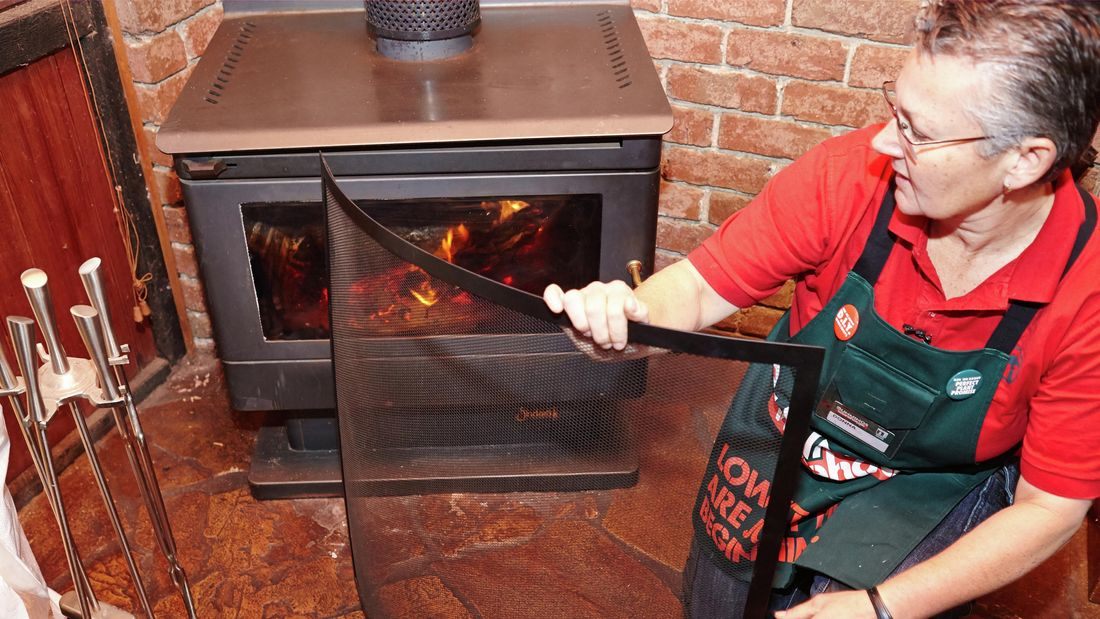 DIY Step Image - How to maintain wood heaters . Blob storage upload.