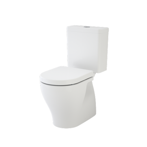 Caroma WELS 4 Star, 3.5L/Min Luna Cleanflush Close Coupled Toilet Suite