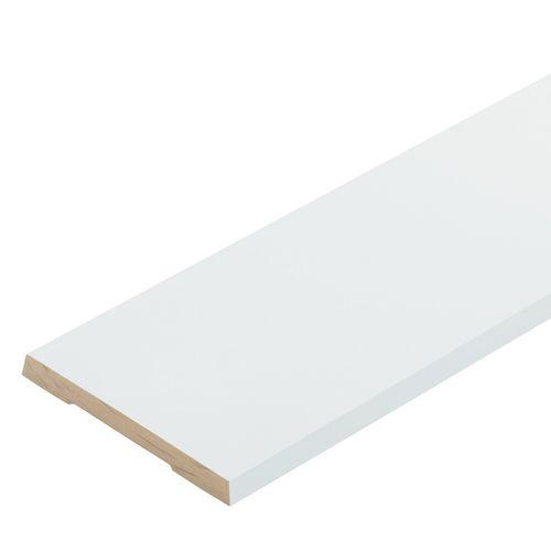 Pinetrim Plus 90 x 10mm 5.4m Primed FJ Single Bevel Architrave