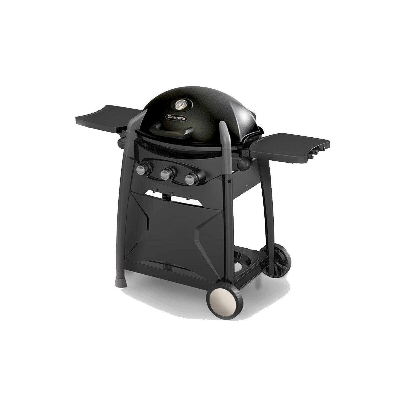 Gasmate Odyssey 3 Burner BBQ - Black