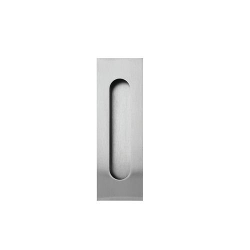 Lockwood Stainless Steel Round Flush Pull