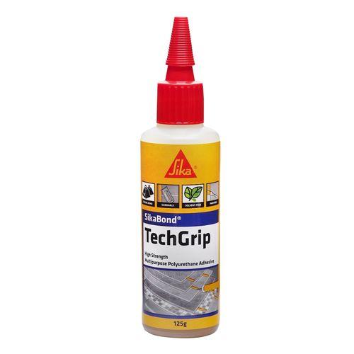 Sikabond 125g Brown Techgrip Multi Purpose Polyurethane Adhesive