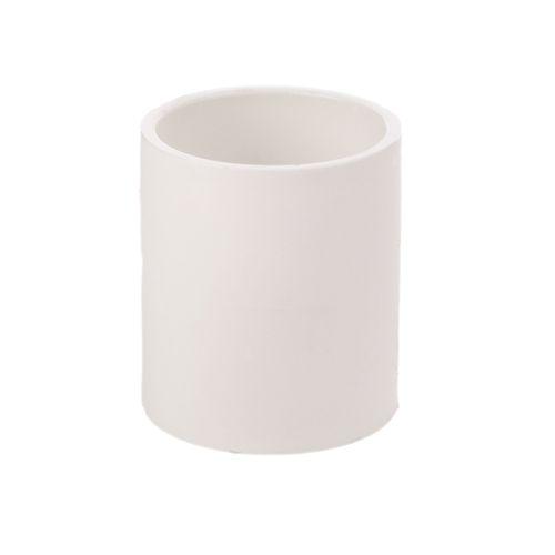 Marley 100mm White PVC Plain Socket Coupler
