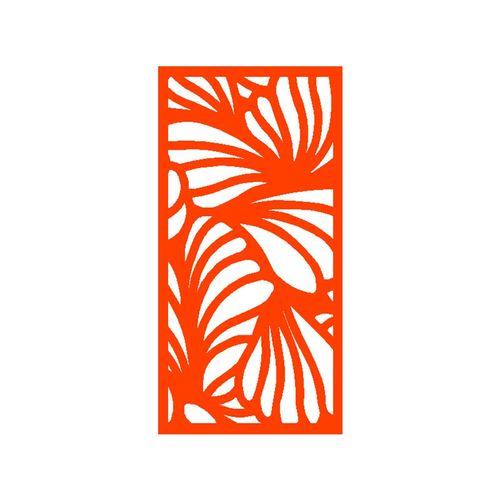 1200 x 2400mm ACP Profile 26 Decorative Panel Unframed - Orange