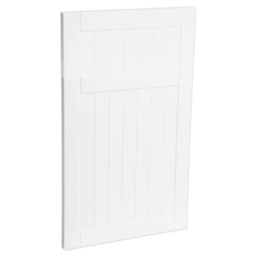 Kaboodle 450mm Country Premium Vinyl 1 Door / 1 Drawer Panel - Nougat Truffle