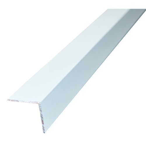 Metal Mate 25 x 25mm x 3m 1.4mm White Powder Coated Aluminium Angle