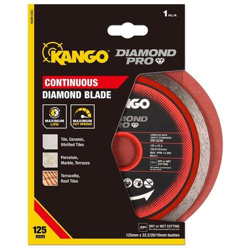 Kango 125mm Continuous Diamond Blades