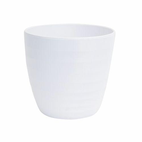 Scheurich 28 x 26cm Alva White Ceramic Pot