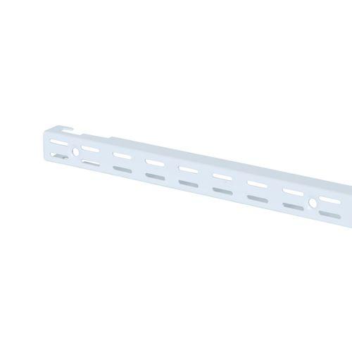 Flexi Storage 2133mm White Double Slot Wall Strip