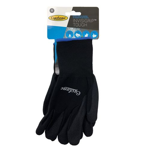 Cyclone Small Invisigrip Tough Gardening Gloves