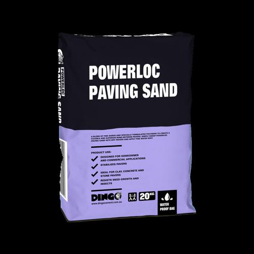 Dingo 20kg Powerloc Paving Sand