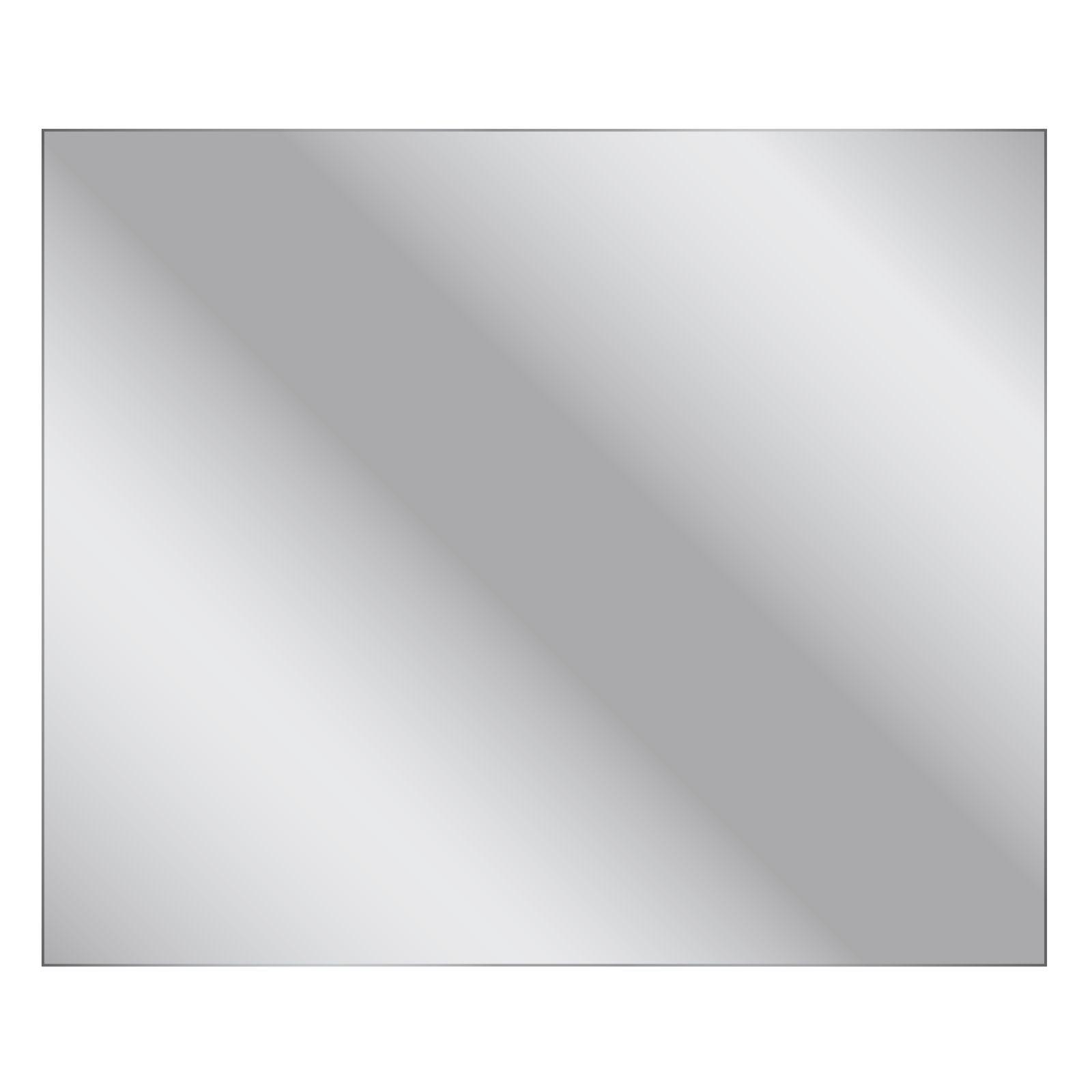 Living Elements 750 x 900 x 5mm Flat Edge Mirror